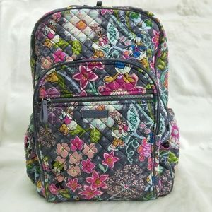 Vera Bradley Iconic Campus Backpack Mickey Friends